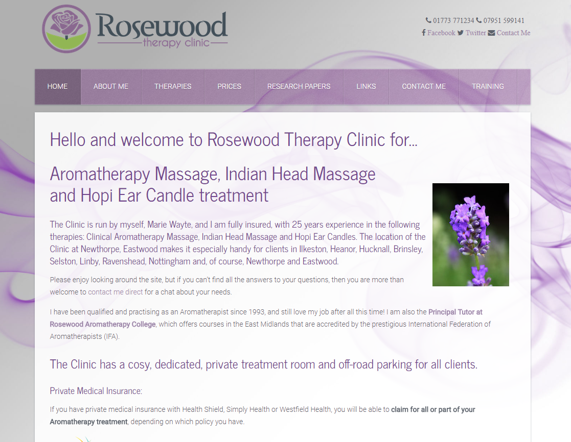 Rosewood Aromatherapy Clinic